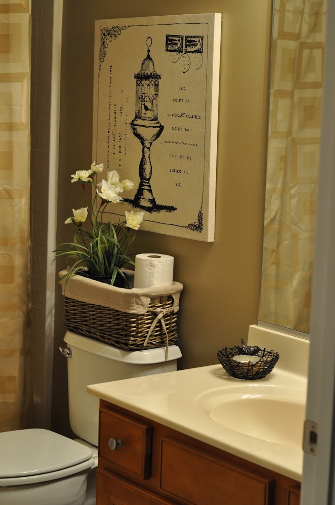 The bland bathroom makeover reveal the small things blog for Best bathroom decor ideas