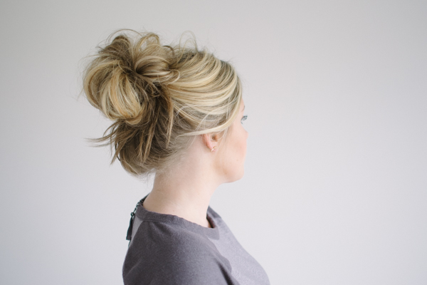 The messy bun the small things blog urmus Gallery