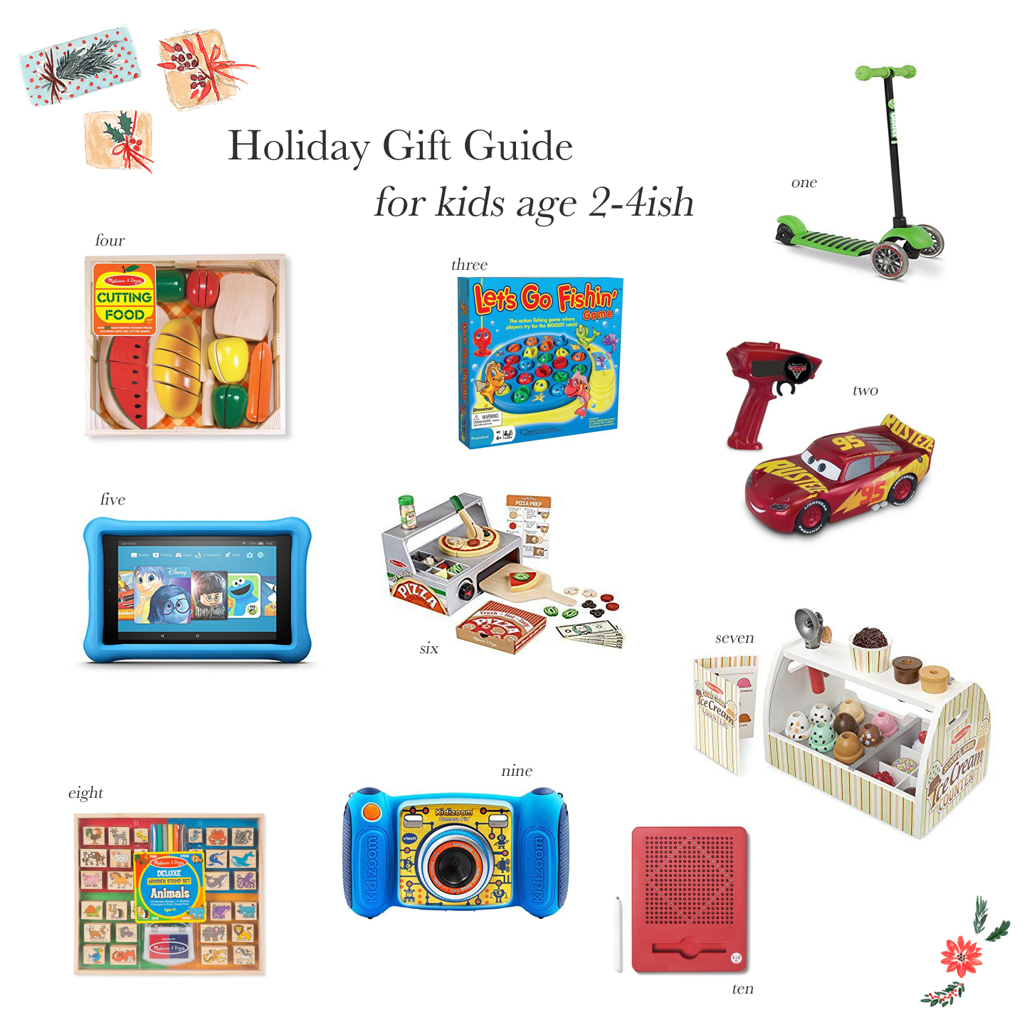 Holiday Gift Ideas for Little Kids The Small Things Blog