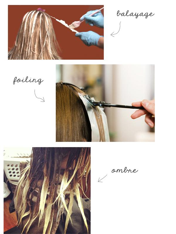 Hair Color Blocking Tutorial