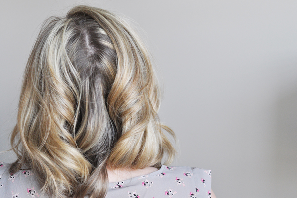 Hair Fix The Dreaded Back Part The Small Things Blog