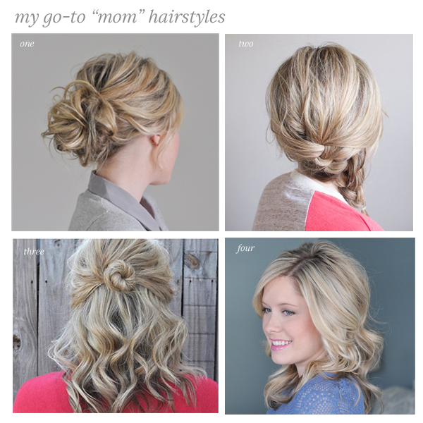 casual hair styles for long hair my go to casual hairstyles the small things 8401 | momhair