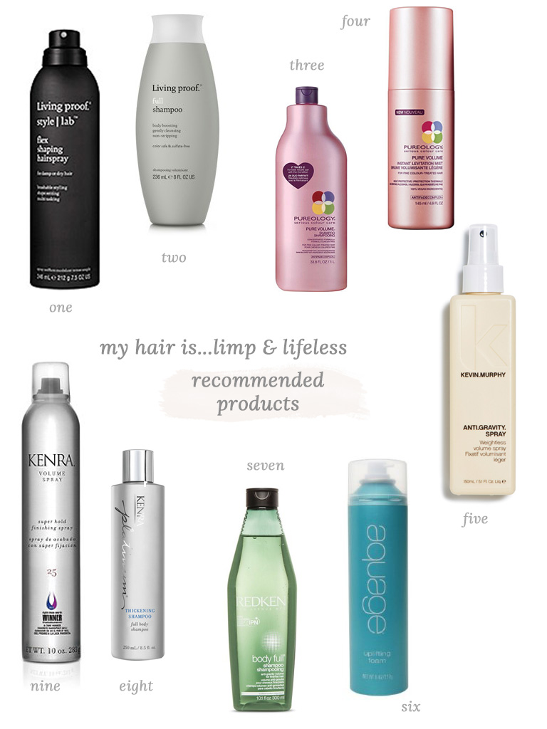 styling products for hair my hair is limp the small things 8968