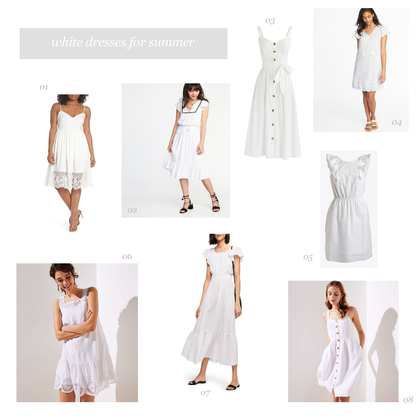White Dresses Book